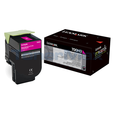LEXMARK CS410 TONER CARTRIDGE MAGENTA 3K